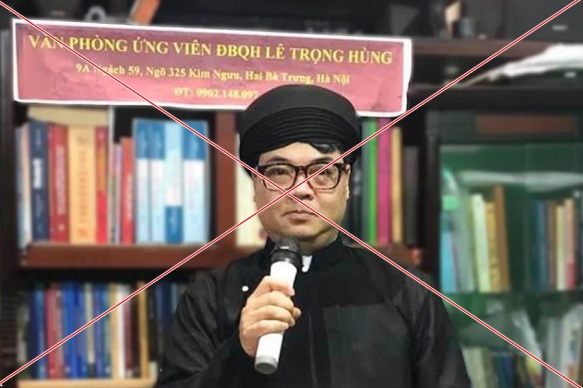 Đối tượng Lê Trọng Hùng, chủ facebook Hùng Gàn Lê thường đưa lên trang cá nhân những lời nói xấu vô căn cứ về lãnh đạo và công khai ủng hộ việc người vi phạm pháp luật chống đối lực lượng chức năng.