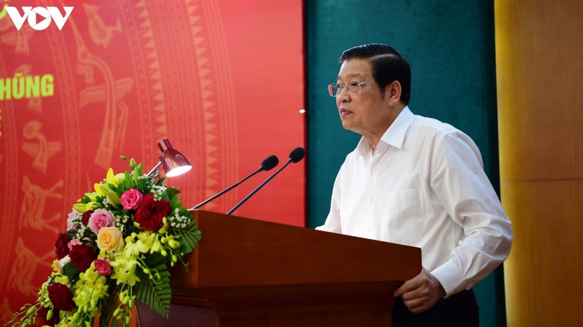 Trưởng Ban Nội chính Trung ương Phan Đình Trạc.