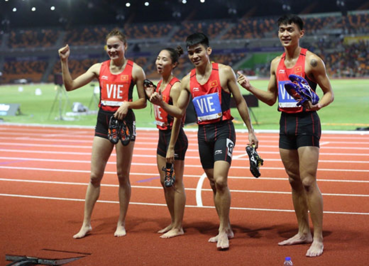 Vietnamese athletes is forced to cancel their flight to Poland in order to compete in the World Athletics Relays due to the impact of the COVID-19 pandemic.