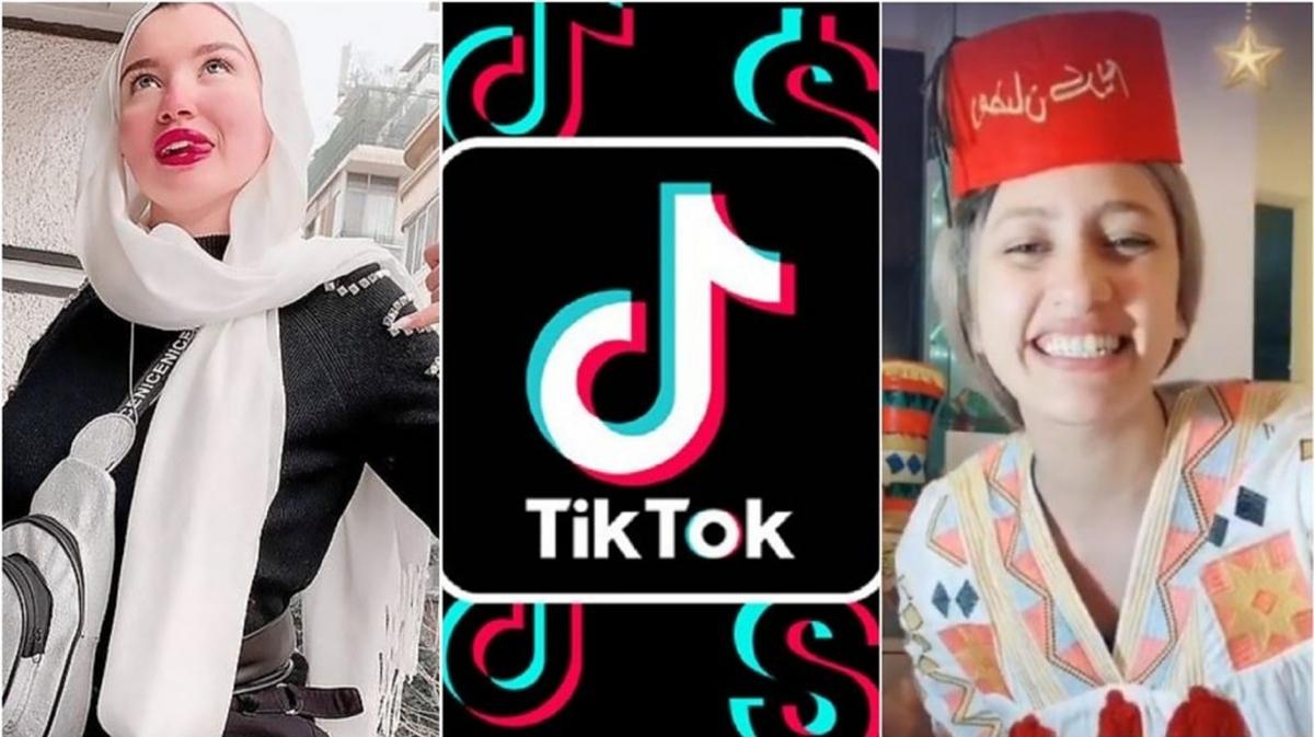 Haneen Hossam, 20 tuổi, người có sức ảnh hưởng trên nền tảng TikTok. Ảnh:Egyptian Streets