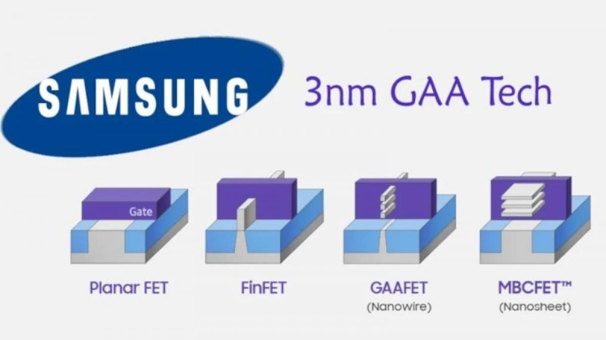 Mục tiêu sản xuất chip tiên tiến của Samsung.