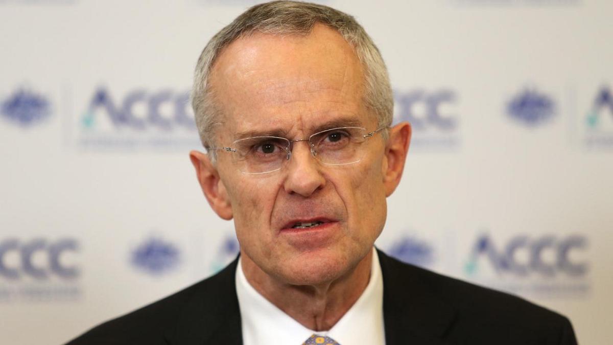 Ông Rod Sims, Chủ tịch Ủy ban Cạnh tranh và Người tiêu dùng Australia. (Nguồn: Dailymerury)
