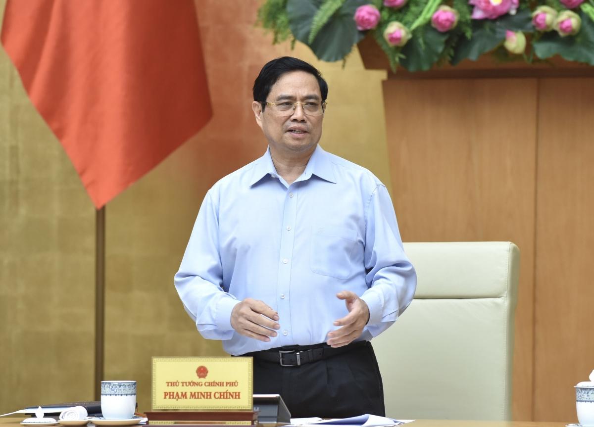 Thủ tướng Phạm Minh Chính chỉ đạo những công việc cụ thể cho các bộ, ngành