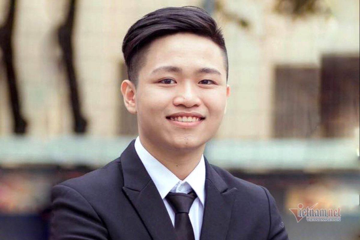 First-year studentDong Ngoc Ha is named among top 50 finalists for Global Student Prize 2021 (Photo: Vietnamnet)