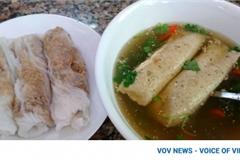 Banh cuon Cao Bang, a must-try dish in Hanoi