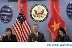 Outgoing US ambassador confident of stronger Vietnam-US partnership