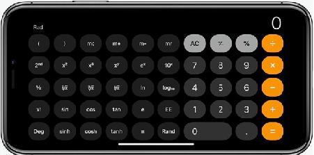 Những tính năng ẩn tuyệt vời của máy tính trên iPhone