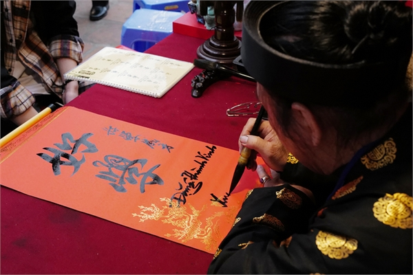 Hanoians enjoy meaningful cultural activities on Tet