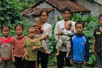 Chàng trai 29 tuổi đã có 10 đứa con, biết tuổi người vợ lại càng bất ngờ