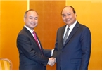 PM Nguyen Xuan Phuc suggests Japan's largest financial service group expand operation in VN