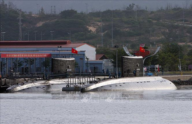 """Cận cảnh 6 """"Hố đen đại dương"""" thuộc Lữ đoàn Tàu ngầm của Hải quân Việt Nam - 15"""