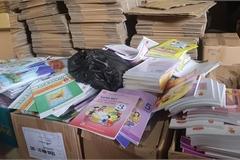 Phát hiện lượng lớn sách giáo dục có dấu hiệu bị làm giả tại Hà Nội