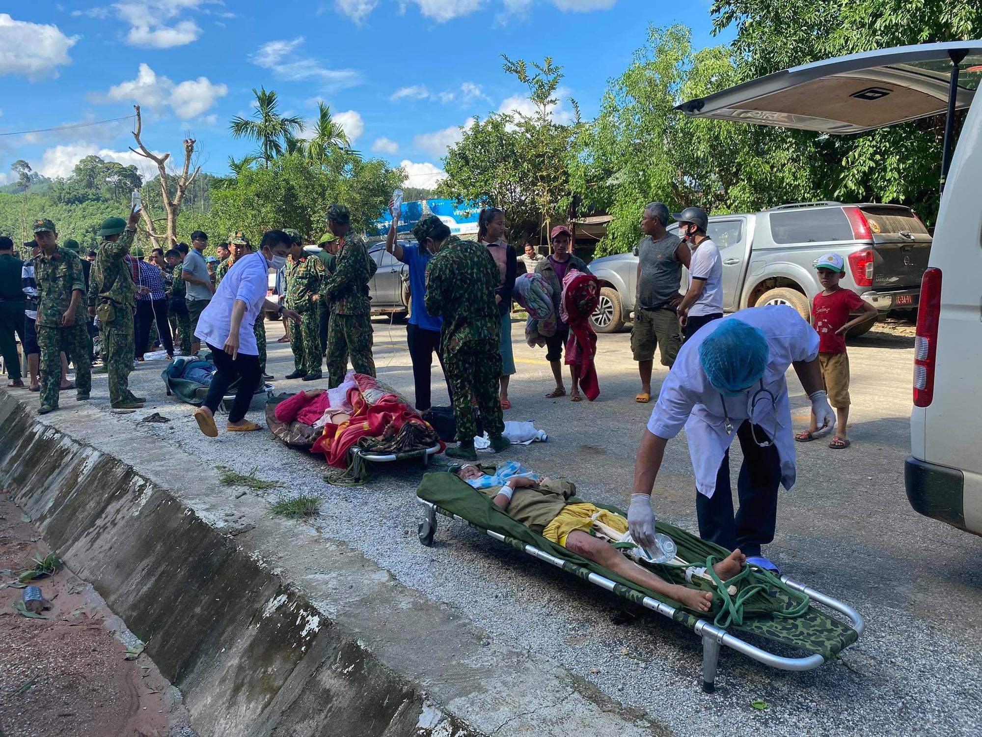 Vụ sạt lở núi vùi lấp ở xã Trà Leng: Cứu sống được 33 người - Ảnh 10.