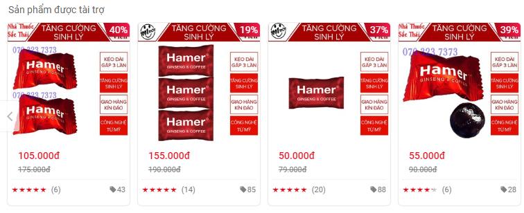 Kẹo kích dục Hamer bán đầy chợ mạng, cơ quan quản lý yêu cầu gỡ bỏ gấp - Ảnh 2.
