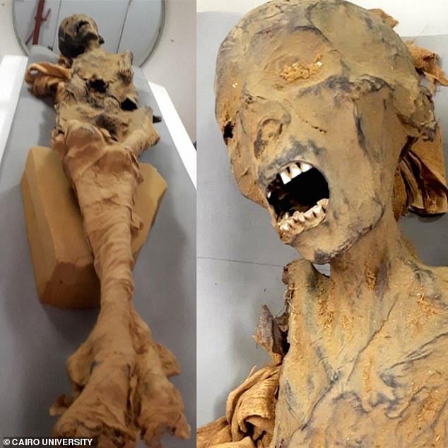 Bí ẩn xác ướp công chúa la hét trong mộ cổ 3.000 năm - Ảnh 1.