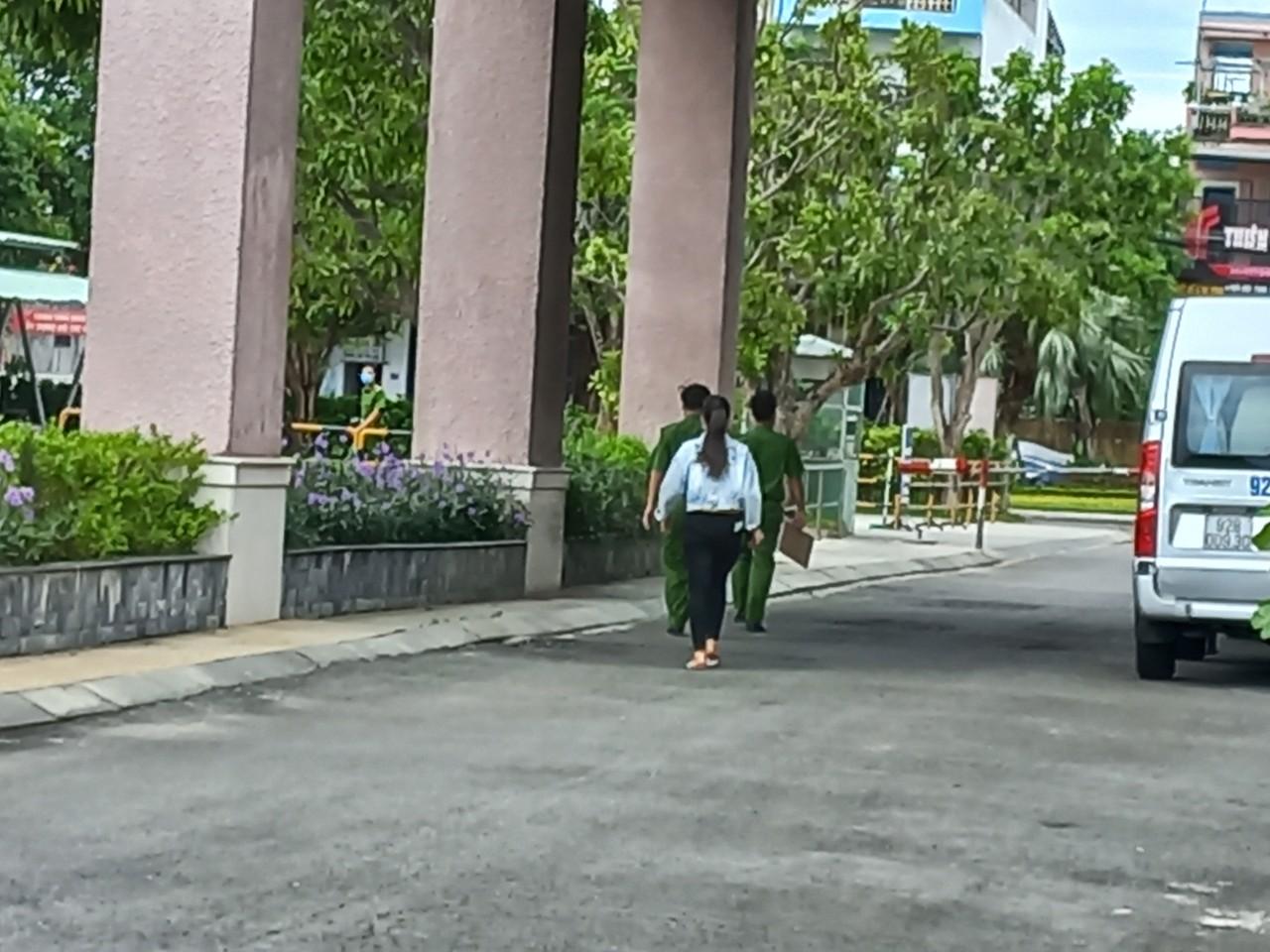 Trưởng phòng điện lực rơi từ tầng 17 khách sạn Mường Thanh Quảng Nam - Ảnh 1.