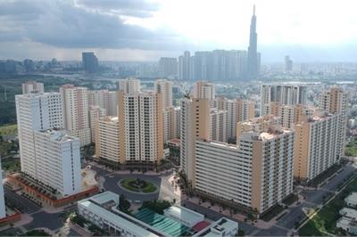 """Cận cảnh 3.790 căn hộ tái định cư không ai mua ở khu đất """"vàng"""" Thủ Thiêm"""
