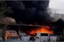 Điều tra vụ hàng loạt ô tô cháy trơ khung ở quận 9, TP HCM