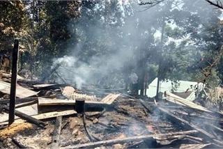 Cháy nhà ở Nam Trà My, 2 cháu nhỏ tử vong thương tâm
