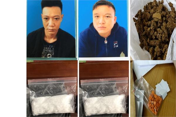 Đồng loạt 'gom' 2 đầu nậu, thu giữ đủ chủng loại ma túy ở Hải Phòng