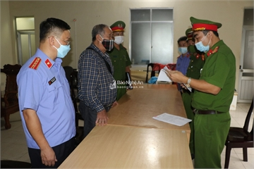 Khởi tố vợ chồng Giám đốc Công ty TNHH-TM Minh Khang