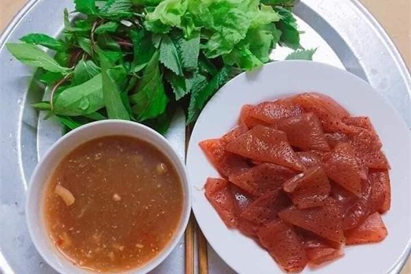 Đặc sản quê ví như sashimi phiên bản Việt... dân buôn bán chạy hàng
