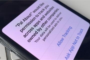Đa số người dùng iPhone sẽ chặn theo dõi quảng cáo