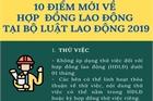 10 điểm mới về hợp đồng lao động trong Bộ luật Lao động