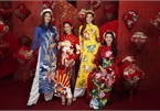 Miss Universe Vietnam beauties stun in Tet photo collection