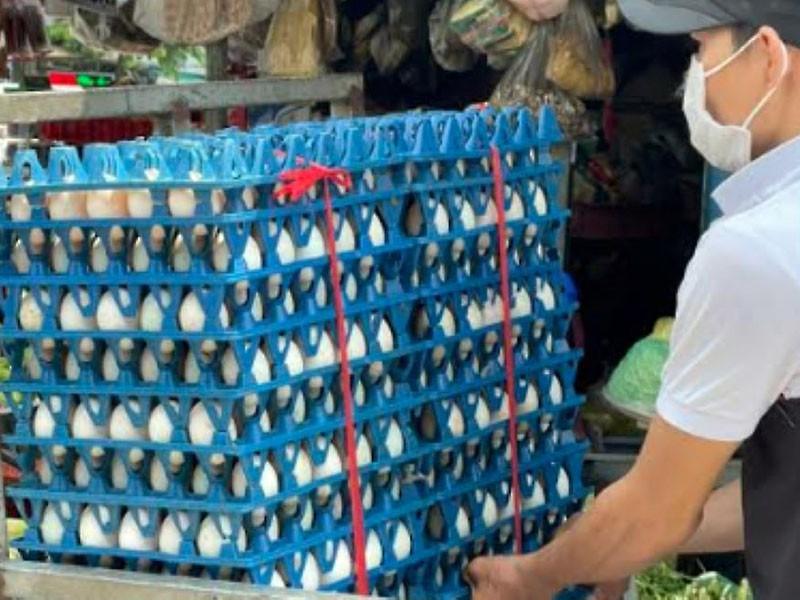 """Hàng ngàn quả trứng """"kẹt"""" trong khu phong tỏa, xử lý sao? - ảnh 1"""