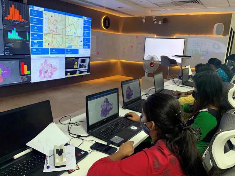 Ngành IT Ấn Độ lập 'phòng chiến tranh' đối phó COVID-19 - ảnh 1