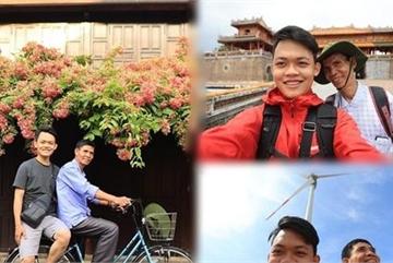 Hành trình xuyên Việt xúc động của 9X cùng 'bạn của ông nội'
