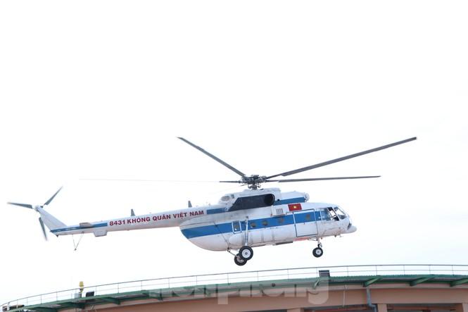 Cận cảnh sân bay trực thăng cấp cứu đầu tiên được cấp phép tại bệnh viện - ảnh 2