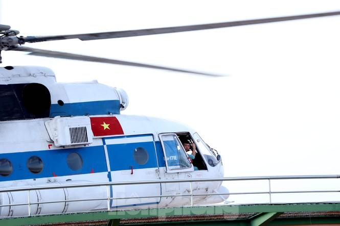 Cận cảnh sân bay trực thăng cấp cứu đầu tiên được cấp phép tại bệnh viện - ảnh 4