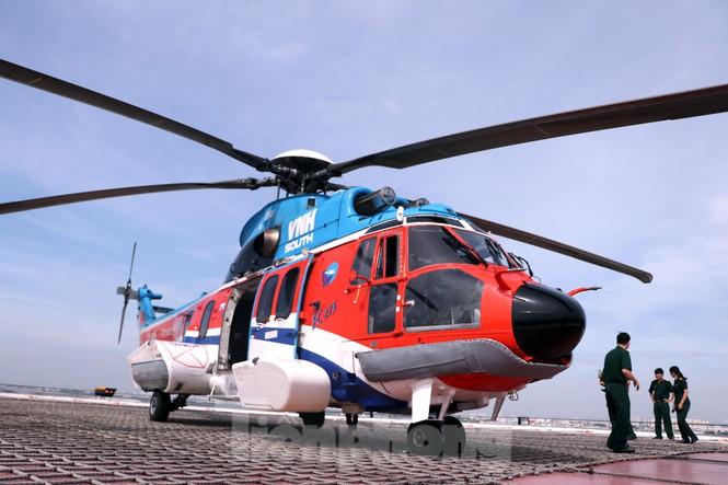 Cận cảnh sân bay trực thăng cấp cứu đầu tiên được cấp phép tại bệnh viện - ảnh 7