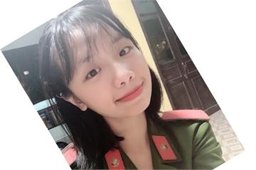 Nữ sinh cảnh sát đến từ Tuyên Quang có bảng thành tích dài kín trang A4