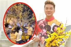 Đàm Vĩnh Hưng được fan tặng cây mai cao 5 mét, giá trăm triệu đồng