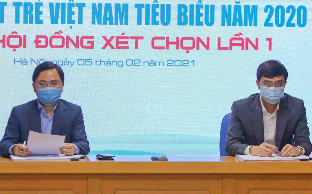 Công bố 20 đề cử Giải thưởng Gương mặt trẻ Việt Nam tiêu biểu năm 2020