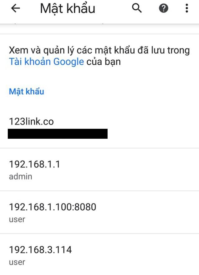 Hướng dẫn xem lại các mật khẩu đã lưu trên Google Chrome bằng smartphone Android - ảnh 4