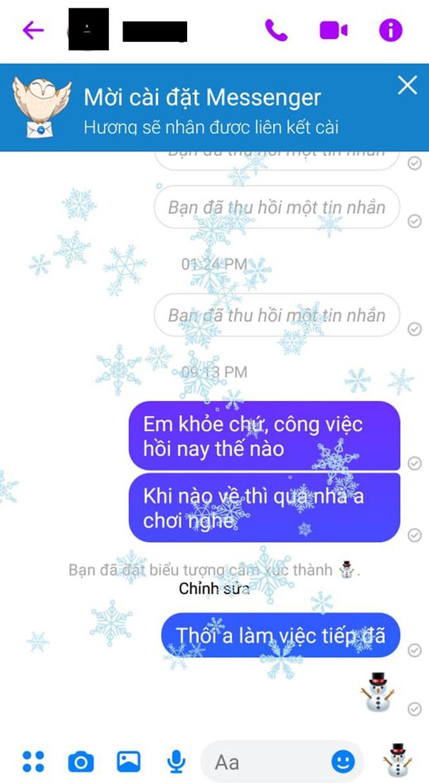 Hướng dẫn cách mang không khí Giáng sinh lên Facebook Messenger - ảnh 4