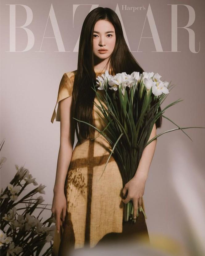 Song Hye Kyo đẹp lãng mạn ngọt ngào như nữ thần mùa xuân - ảnh 7