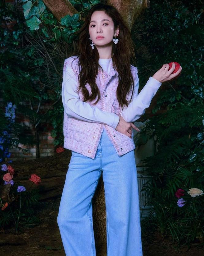 Song Hye Kyo đẹp lãng mạn ngọt ngào như nữ thần mùa xuân - ảnh 6