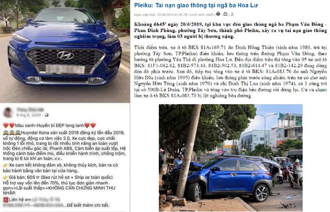 Tá hỏa loạt ôtô 'cam kết' không tai nạn rao bán trên thị trường - ảnh 2