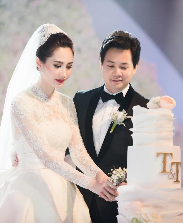 Top 3 HHVN 2012: Hoa hậu Đặng Thu Thảo và 2 á hậu đều có hôn nhân viên mãn - ảnh 4