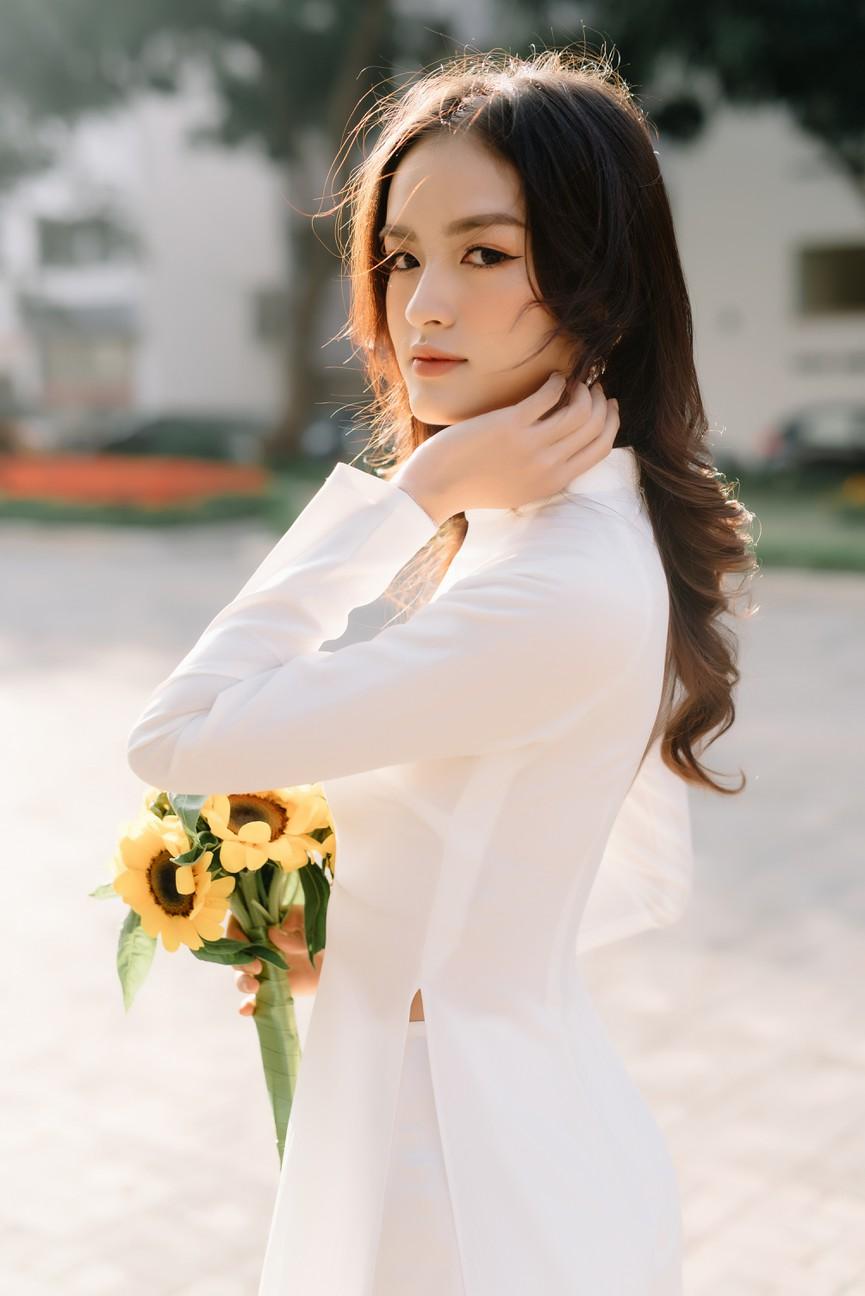 Hoa khôi Đại học Ngoại thương từng thi Hoa hậu Việt Nam 2020 giờ ra sao? - ảnh 3