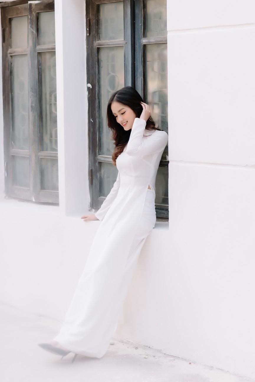 Hoa khôi Đại học Ngoại thương từng thi Hoa hậu Việt Nam 2020 giờ ra sao? - ảnh 6