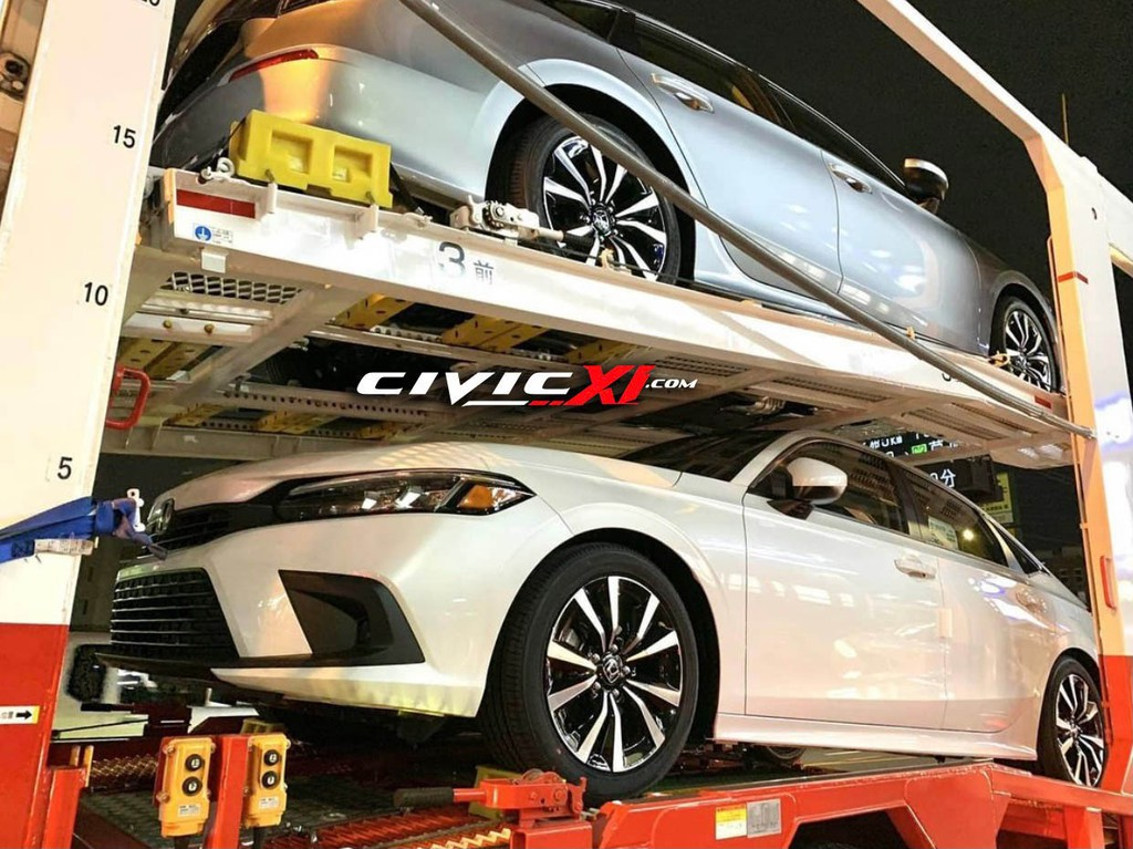 Lộ diện Honda Civic thế hệ mới bản sản xuất trên đường vận chuyển ảnh 1