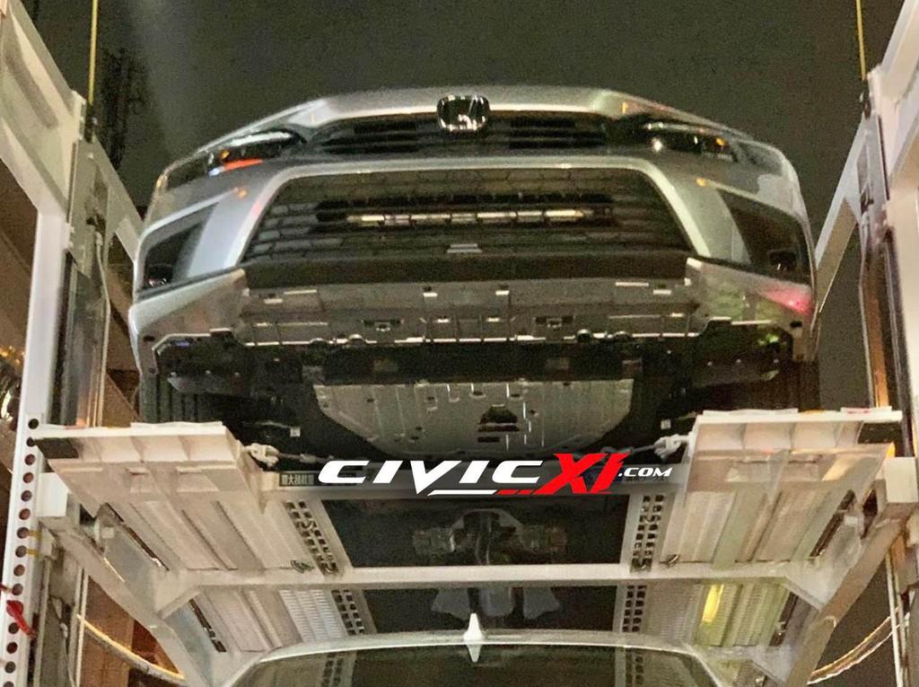 Lộ diện Honda Civic thế hệ mới bản sản xuất trên đường vận chuyển ảnh 2