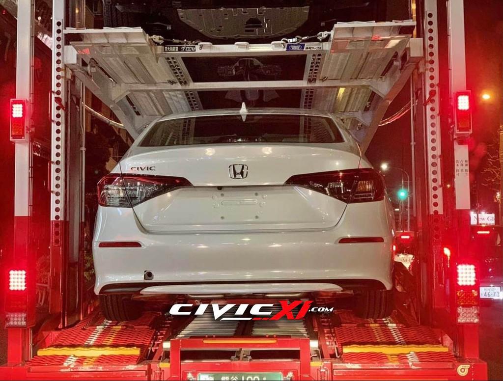 Lộ diện Honda Civic thế hệ mới bản sản xuất trên đường vận chuyển ảnh 5