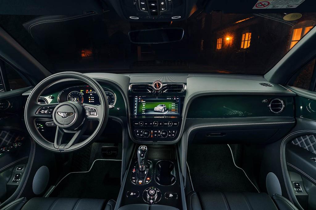 """Chiêm ngưỡng Bentley Bentayga Hybrid Mulliner màu """"Ngọc Lục Bảo"""" siêu đẹp! ảnh 5"""